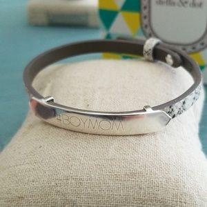Signature Engravable ID Bracelet #BOYMOM